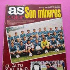 Colecionismo desportivo: REVISTA AS COLOR Nº 539 1981 REAL MADRID COPA UEFA 81/82 TATABANYA HUNGRIA. Lote 254180185