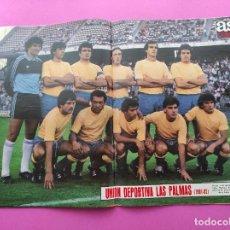 Colecionismo desportivo: REVISTA AS COLOR Nº 546 POSTER UD LAS PALMAS 81/82 - ALINEACION TEMPORADA 1981/1982. Lote 254181140