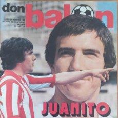 Coleccionismo deportivo: DON BALON N.º 106 -20 AL 26 OCTUBRE 1977 - ESPAÑA RUMANIA - ARCONADA - ANGEL NIETO - LEIVINHA. Lote 254198420