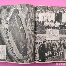 Coleccionismo deportivo: TOMO 45 AS REVISTA SEMANAL DEPORTIVA 59-103 ATHLETIC BILBAO CAMPEON LIGA 33/34 MADRID COPA 1933-1934. Lote 254210990