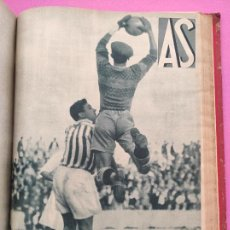 Coleccionismo deportivo: TOMO 55 AS REVISTA SEMANAL DEPORTIVA Nº 104-158 BETIS CAMPEON LIGA 34/35 SEVILLA COPA 1934-1935. Lote 254214330