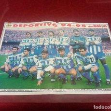 Coleccionismo deportivo: LOTE DE 20 POSTERS DE LA REVISTA DON BALÓN DE LOS EQUIPOS DE FÚTBOL TEMPORADA 94/95 1994 1995. Lote 254345545