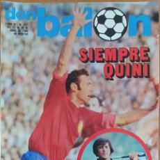 Coleccionismo deportivo: DON BALON N.º 237 - 22 AL 28 ABRIL 1980 - MIGUEL ALONSO - REAL SOCIEDAD - SPORTING GIJON. Lote 254474185