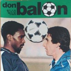 Coleccionismo deportivo: DON BALON N.º 235 - 8 AL 14 ABRIL 1980 - NIMO - QUINI - POSTER REAL MADRID 1980. Lote 254474310