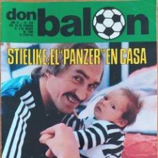 Coleccionismo deportivo: DON BALON N.º 229 - 26 FEBRERO AL 3 MARZO 1980 - STIELIKE - ESPECIAL REAL BETIS A TODO COLOR. Lote 254474945
