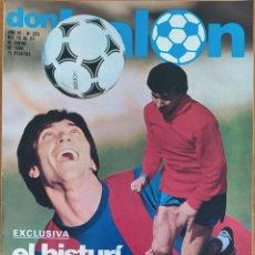 Coleccionismo deportivo: DON BALON N.º 223 - 15 AL 21 ENERO 1980 - ZUÑIGA - MARAÑON - QUINI - FERRERO SPORTING GIJON. Lote 254475095