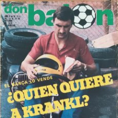 Coleccionismo deportivo: DON BALON N.º 211 - 23 AL 29 OCTUBRE 1979 - KRANKL ANTOGNONI - DEL BOSQUE. Lote 254475300
