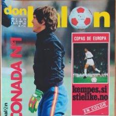 Coleccionismo deportivo: DON BALON N.º 238 - 29 ABRIL AL 5 MAYO 1980 - ARCONADA - BERTONI - VALENCIA FC NANTES RECOPA. Lote 254475550