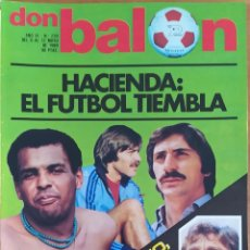 Coleccionismo deportivo: DON BALON N.º 239 - 6 AL 12 MAYO 1980 - VALENCIA ARSENAL RECOPA 80 - CANITO - VUELTA ESPAÑA 1980. Lote 254475730