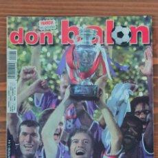 Coleccionismo deportivo: DON BALÓN 1290 FRANCIA CAMPEONA EURO 2000. CON POSTER. Lote 254574280