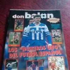 Coleccionismo deportivo: ESPECIAL DON BALÓN. LOS NÚMEROS 1. ESPECIAL DON BALÓN CON LOS RANKINGS DE LA LIGA QUE DON BALÓN. Lote 254599615