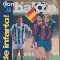 Coleccionismo deportivo: DON BALON N.º 341 - 20 AL 26 ABRIL 1982 - MADRID GIJON FINAL COPA - INFORME ATHLETIC - COPAS EUROPA. Lote 254679880