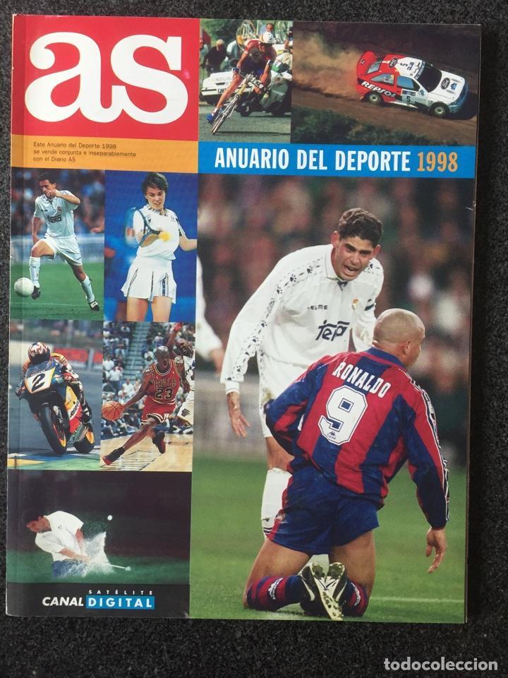 ANUARIO DEL DEPORTE 1998 - DIARIO AS - 1998 - ¡MUY BUEN ESTADO! (Coleccionismo Deportivo - Revistas y Periódicos - As)