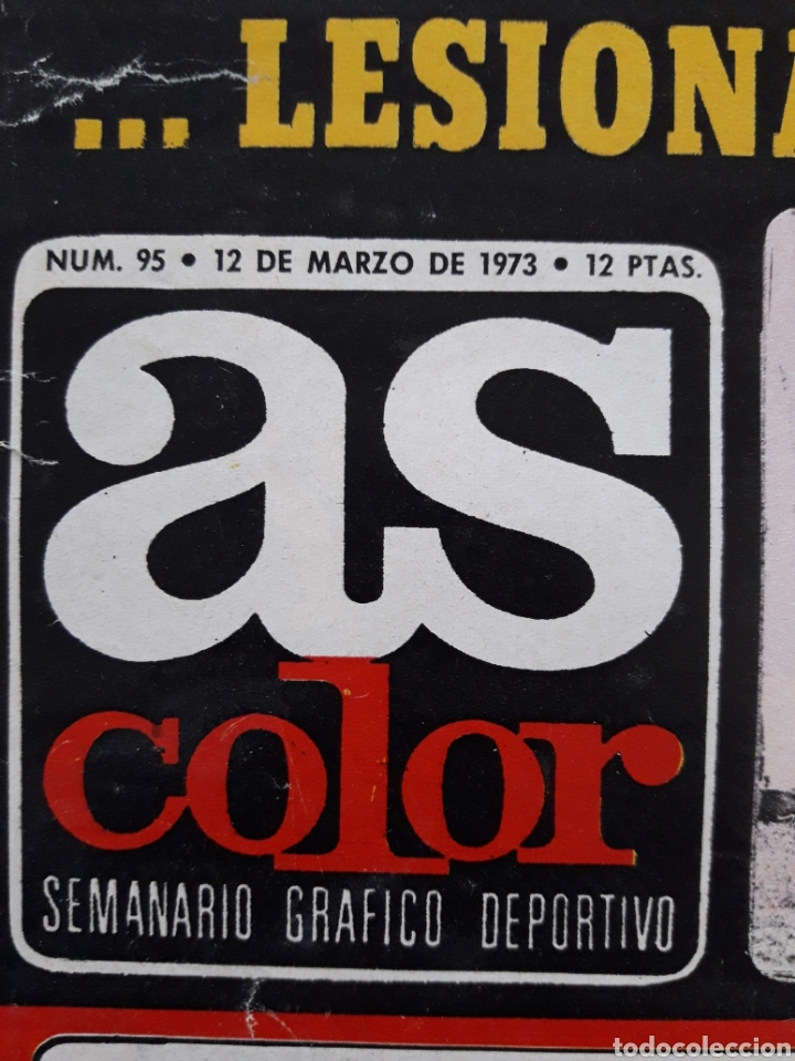 Coleccionismo deportivo: REVISTA AS COLOR-N°95-1973 - Foto 2 - 254824490