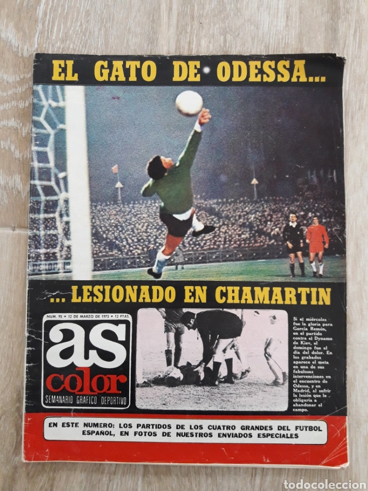 REVISTA AS COLOR-N°95-1973 (Coleccionismo Deportivo - Revistas y Periódicos - As)