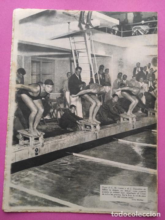 Coleccionismo deportivo: PERIODICO AS Nº 61 1933 VICENTE TRUEBA REY MONTAÑA TOUR FRANCIA 33 - CLUB IZARRA EIBAR - COPA DAVIS - Foto 7 - 254859350