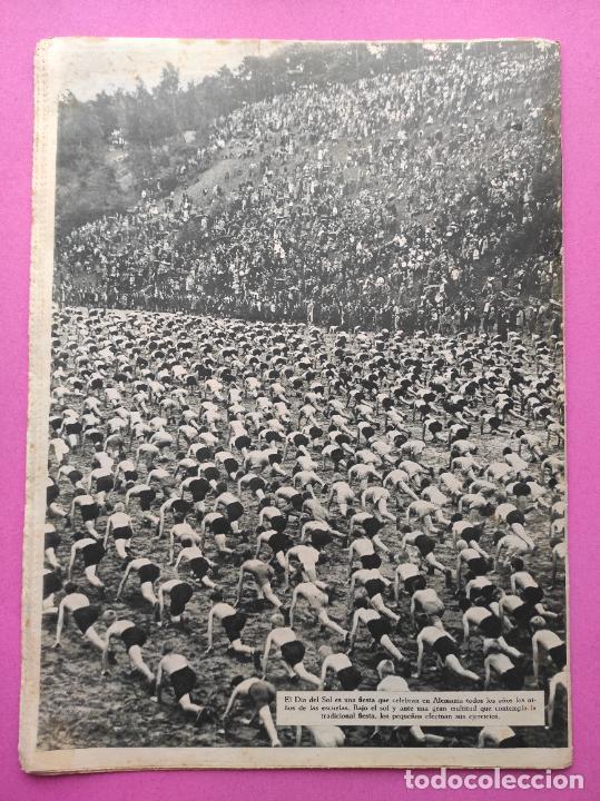 Coleccionismo deportivo: PERIODICO AS Nº 62 1933 CLUB PROMONTORIO SANTANDER - COPA DAVIS ESPAÑA - DIA DEL SOL ALEMANIA - Foto 6 - 254860140