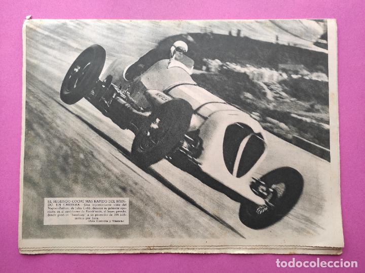 Coleccionismo deportivo: PERIODICO AS Nº 63 1933 CAMPEONATO ESPAÑA ATLETISMO - CICLISMO VUELTA GALICIA - CASTILLA NATACION - Foto 5 - 254860275