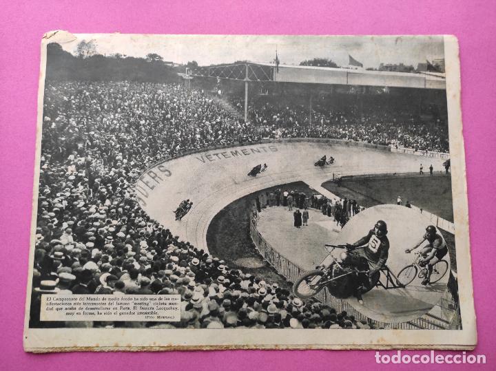 Coleccionismo deportivo: PERIODICO AS Nº 64 1933 SEVILLA FC - CADIZ MIRANDILLA - TRAINERAS CANTABRICO - ATHELTIC CLUB BILBAO - Foto 9 - 254860860