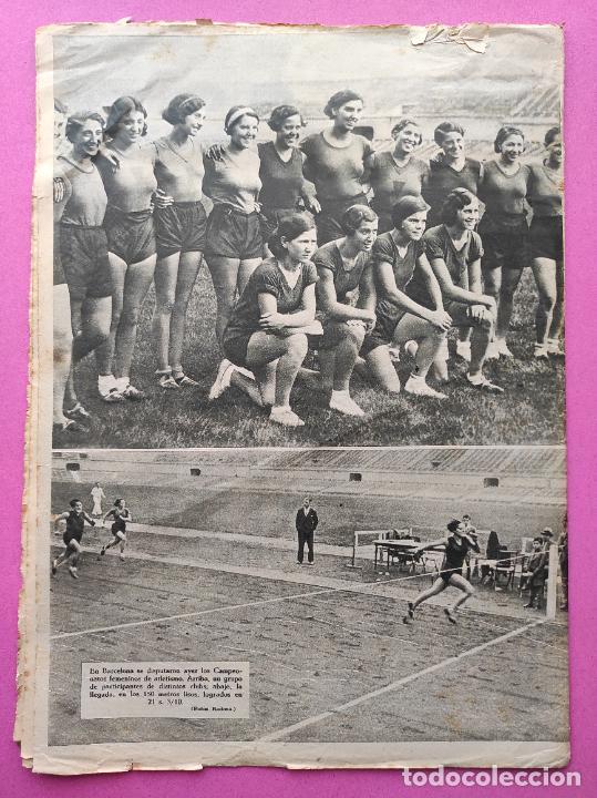 Coleccionismo deportivo: PERIODICO AS Nº 71 1933 SEVILLA FC - CAMPEONATOS REGIONALES 33 - RIMET FIFA - ATLETISMO FEMENINO - Foto 6 - 254878710