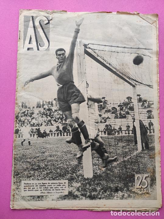 PERIODICO AS Nº 71 1933 SEVILLA FC - CAMPEONATOS REGIONALES 33 - RIMET FIFA - ATLETISMO FEMENINO (Coleccionismo Deportivo - Revistas y Periódicos - As)