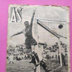 Coleccionismo deportivo: PERIODICO AS Nº 71 1933 SEVILLA FC - CAMPEONATOS REGIONALES 33 - RIMET FIFA - ATLETISMO FEMENINO. Lote 254878710