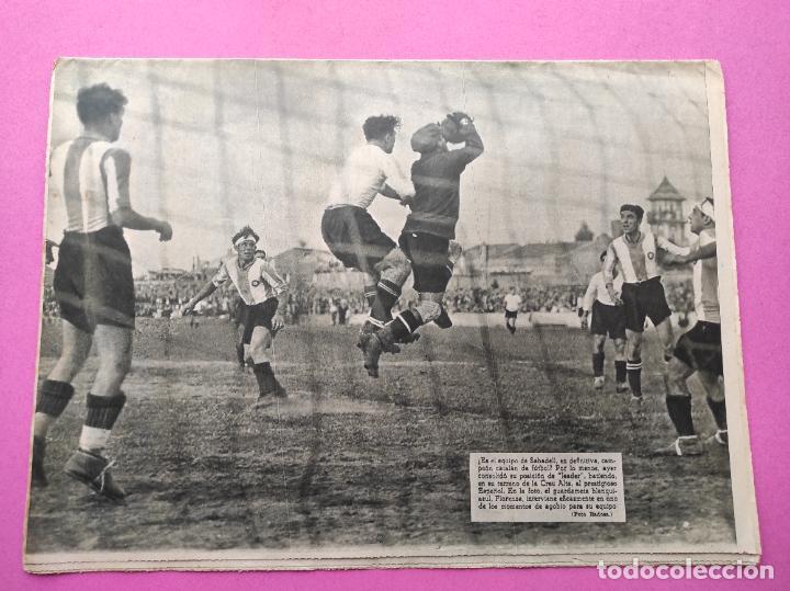 Coleccionismo deportivo: PERIODICO AS Nº 72 1933 CAMPEONATOS REGIONALES 33 MADRID-ATLETICO - SABADELL CAMPEON - Foto 6 - 254878925