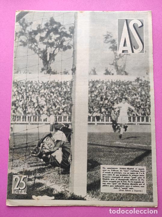 PERIODICO AS Nº 72 1933 CAMPEONATOS REGIONALES 33 MADRID-ATLETICO - SABADELL CAMPEON (Coleccionismo Deportivo - Revistas y Periódicos - As)