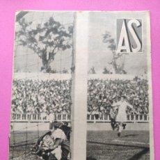 Coleccionismo deportivo: PERIODICO AS Nº 72 1933 CAMPEONATOS REGIONALES 33 MADRID-ATLETICO - SABADELL CAMPEON. Lote 254878925