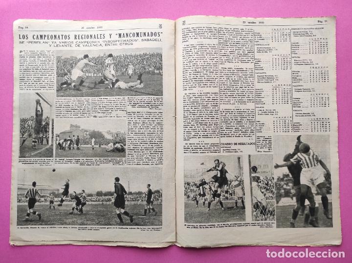 Coleccionismo deportivo: PERIODICO AS Nº 73 1933 BOXEO PAULINO UZCUDUN - CAMPEONATOS REGIONALES 33 - LEVANTE SABADELL - Foto 5 - 254879160
