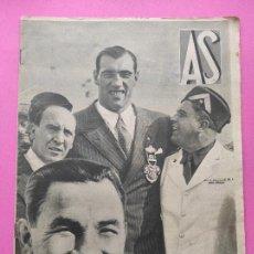 Coleccionismo deportivo: PERIODICO AS Nº 73 1933 BOXEO PAULINO UZCUDUN - CAMPEONATOS REGIONALES 33 - LEVANTE SABADELL. Lote 254879160