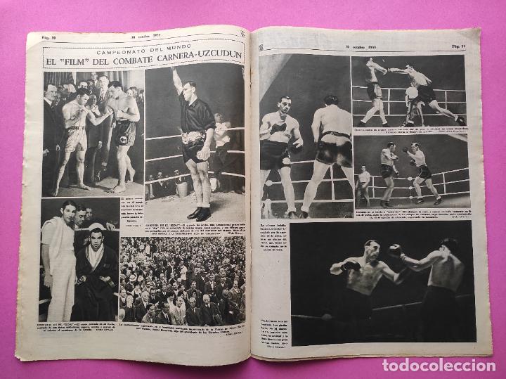 Coleccionismo deportivo: PERIODICO AS Nº 74 1933 BOXEO UZCUDUN - CAMPEONATOS REGIONALES 33 MADRID CAMPEON - BETIS - Foto 4 - 254879445