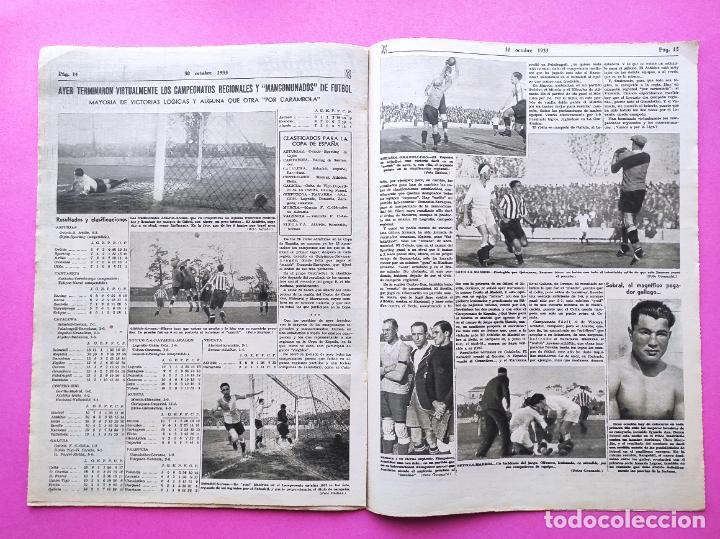 Coleccionismo deportivo: PERIODICO AS Nº 74 1933 BOXEO UZCUDUN - CAMPEONATOS REGIONALES 33 MADRID CAMPEON - BETIS - Foto 5 - 254879445