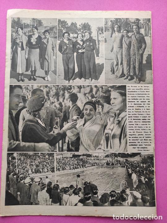Coleccionismo deportivo: PERIODICO AS Nº 74 1933 BOXEO UZCUDUN - CAMPEONATOS REGIONALES 33 MADRID CAMPEON - BETIS - Foto 7 - 254879445