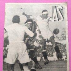 Coleccionismo deportivo: PERIODICO AS Nº 74 1933 BOXEO UZCUDUN - CAMPEONATOS REGIONALES 33 MADRID CAMPEON - BETIS. Lote 254879445