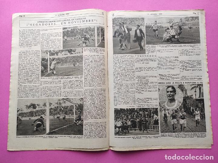 Coleccionismo deportivo: PERIODICO AS Nº 75 1933 RIVER PLATE - ARENAS GETXO - LIGA 33/34 - ANTONIO ESCURIET CICLISMO - Foto 4 - 254880550