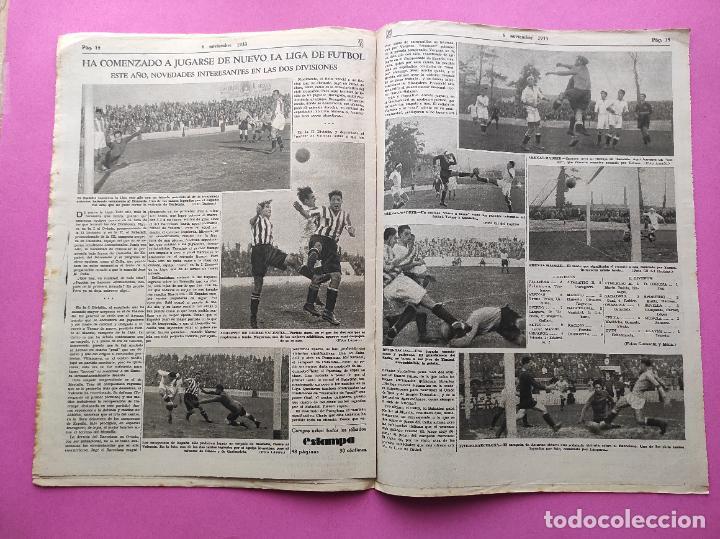 Coleccionismo deportivo: PERIODICO AS Nº 75 1933 RIVER PLATE - ARENAS GETXO - LIGA 33/34 - ANTONIO ESCURIET CICLISMO - Foto 5 - 254880550