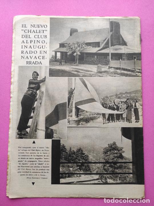 Coleccionismo deportivo: PERIODICO AS Nº 75 1933 RIVER PLATE - ARENAS GETXO - LIGA 33/34 - ANTONIO ESCURIET CICLISMO - Foto 7 - 254880550