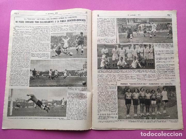 Coleccionismo deportivo: PERIODICO AS Nº 76 1933 LIGA 33/34 MADRID-VALENCIA - RACING SANTANDER - MURCIA-ATLETICO SEVILLA - Foto 3 - 254881070