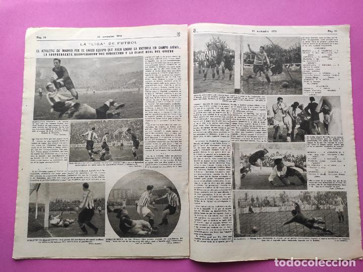 Coleccionismo deportivo: PERIODICO AS Nº 76 1933 LIGA 33/34 MADRID-VALENCIA - RACING SANTANDER - MURCIA-ATLETICO SEVILLA - Foto 5 - 254881070