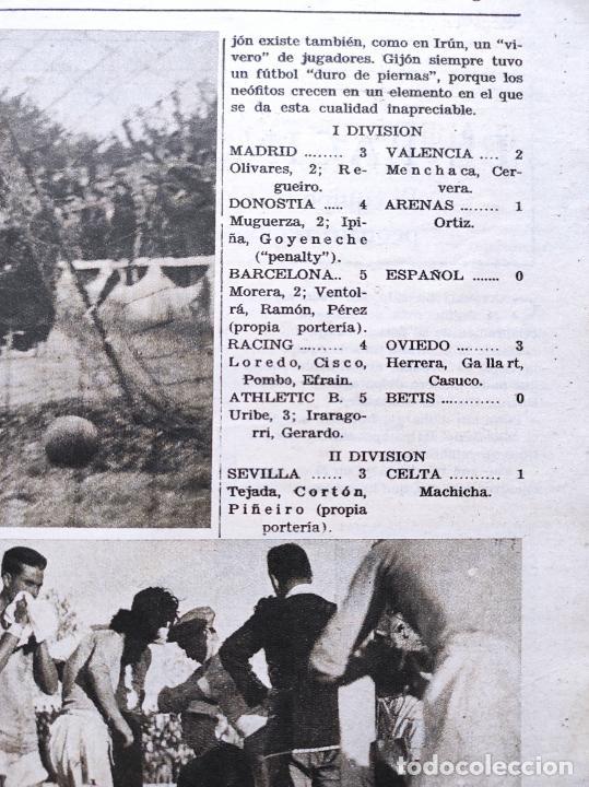 Coleccionismo deportivo: PERIODICO AS Nº 76 1933 LIGA 33/34 MADRID-VALENCIA - RACING SANTANDER - MURCIA-ATLETICO SEVILLA - Foto 6 - 254881070