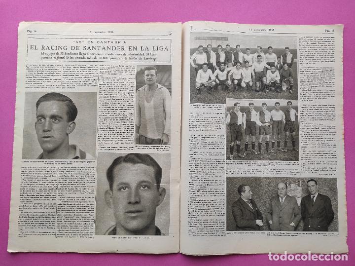 Coleccionismo deportivo: PERIODICO AS Nº 76 1933 LIGA 33/34 MADRID-VALENCIA - RACING SANTANDER - MURCIA-ATLETICO SEVILLA - Foto 7 - 254881070