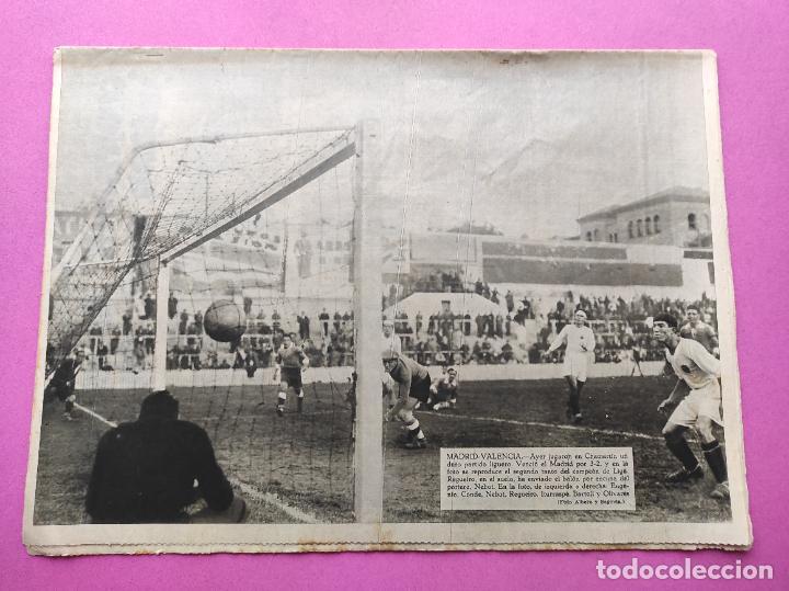 Coleccionismo deportivo: PERIODICO AS Nº 76 1933 LIGA 33/34 MADRID-VALENCIA - RACING SANTANDER - MURCIA-ATLETICO SEVILLA - Foto 8 - 254881070