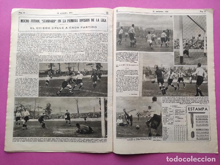 Coleccionismo deportivo: PERIODICO AS Nº 77 1933 CELTA VIGO CAMPEON GALICIA - LIGA 33/34 OVIEDO DONOSTIA - SOLADRERO BETIS - Foto 5 - 254881505