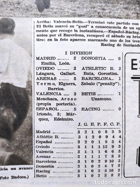 Coleccionismo deportivo: PERIODICO AS Nº 77 1933 CELTA VIGO CAMPEON GALICIA - LIGA 33/34 OVIEDO DONOSTIA - SOLADRERO BETIS - Foto 6 - 254881505