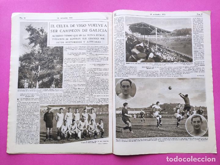 Coleccionismo deportivo: PERIODICO AS Nº 77 1933 CELTA VIGO CAMPEON GALICIA - LIGA 33/34 OVIEDO DONOSTIA - SOLADRERO BETIS - Foto 7 - 254881505