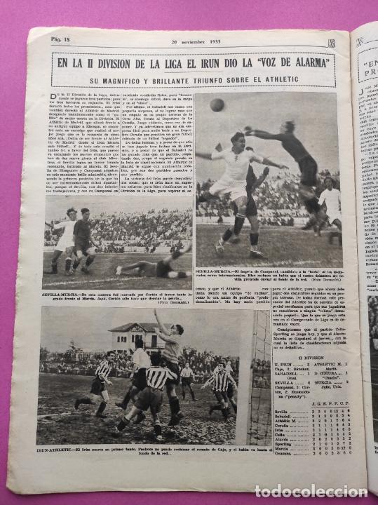 Coleccionismo deportivo: PERIODICO AS Nº 77 1933 CELTA VIGO CAMPEON GALICIA - LIGA 33/34 OVIEDO DONOSTIA - SOLADRERO BETIS - Foto 8 - 254881505