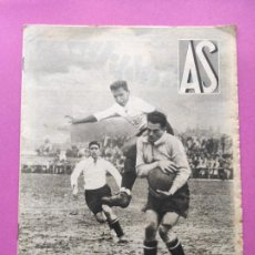 Coleccionismo deportivo: PERIODICO AS Nº 77 1933 CELTA VIGO CAMPEON GALICIA - LIGA 33/34 OVIEDO DONOSTIA - SOLADRERO BETIS. Lote 254881505