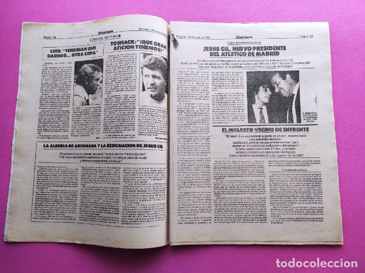 Coleccionismo deportivo: DIARIO MUNDO DEPORTIVO REAL SOCIEDAD CAMPEON COPA DEL REY 86/87 - FINAL 1986/1987 ARCONADA TOSHACK - Foto 2 - 255434085