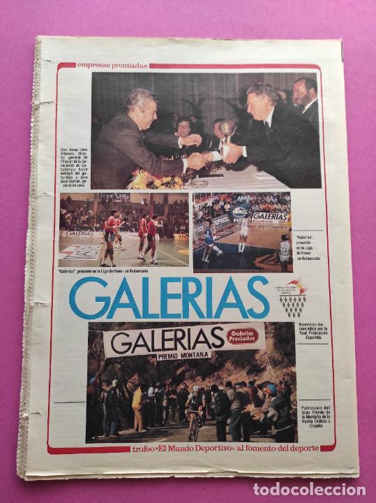 Coleccionismo deportivo: DIARIO MUNDO DEPORTIVO REAL SOCIEDAD CAMPEON COPA DEL REY 86/87 - FINAL 1986/1987 ARCONADA TOSHACK - Foto 4 - 255434085